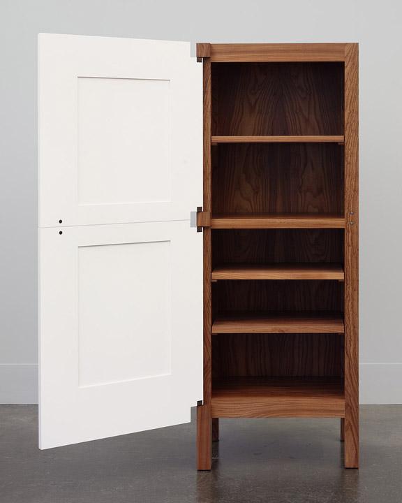 A One Door Two Door Cabinet & A One Door Two Door Cabinet / Domestic Furniture