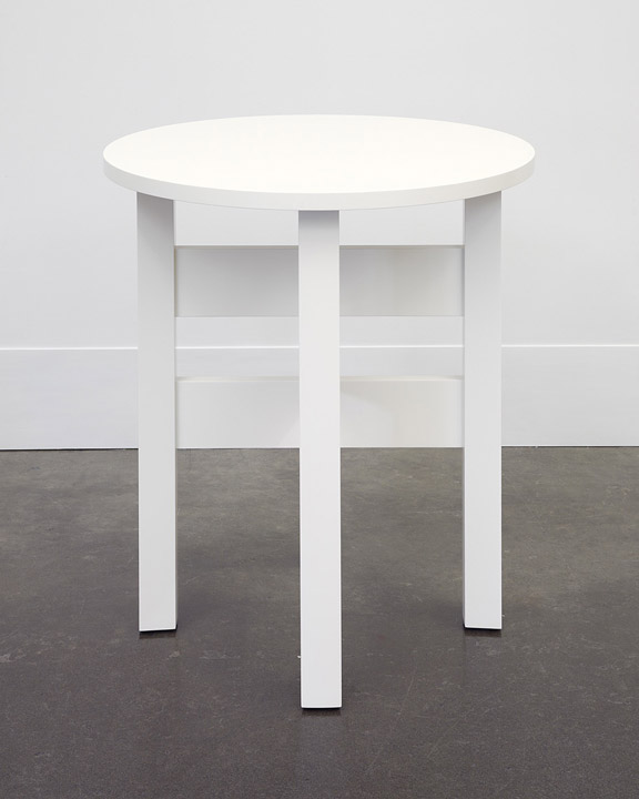 A White Lamp Table I First Made For Chris